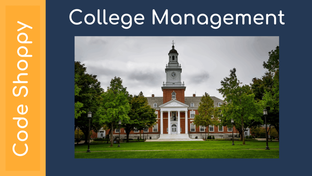 College Management System Project