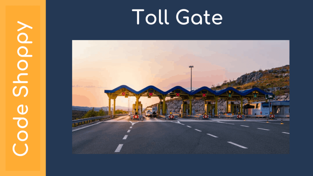 Online Tollgate Payment Android App
